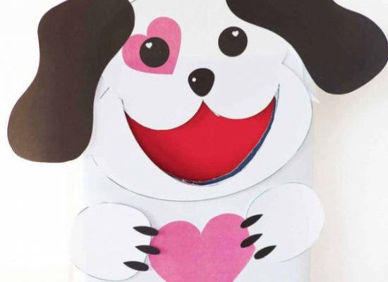 puppy dog valentine box | craftgawker